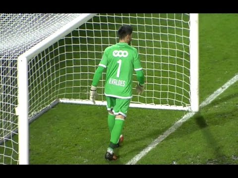 Víctor Valdés debut for  Standard Liege vs OH Leuven 30/1/2016