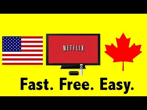 Get American Netflix on Apple TV