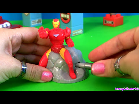 Widgets Superheroes Toys Spider-Man, Iron Man, Buzz Lightyear Disney Pixar Marvel Avengers