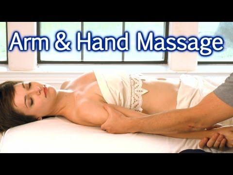 Massage For Upper Body, Arms & Hands, Body Work Therapy For Relaxation Bodywork Masters ASMR