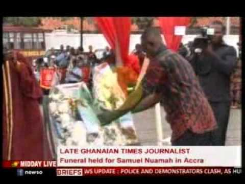 MiddayLive - Funeral held for Samuel Nuamah in Accra - 17/9/2015