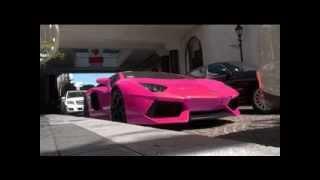 Nicki Minaj Had Crashed Her 500k Pink Lamborghini Aventador LP700-4 In LA