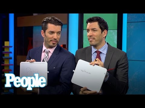 PEOPLE Now:  How Well Do Property Brothers Drew and Jonathan Scott Know Each Other?