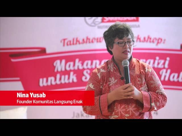 Talkshow Makanan Bergizi untuk Sang Buah Hati bersama Komunitas NUB, 17 May 2014