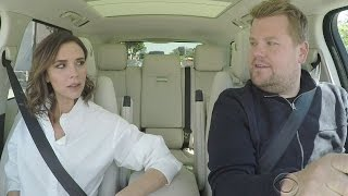 "Victoria Beckham Channels Posh Spice in Carpool Karaoke During Hilarious ""Mannequin"" Reboot Parody"