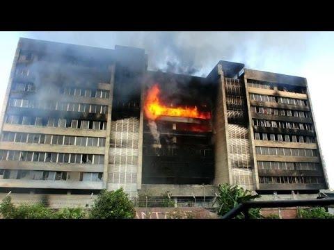 Suspected arson at Bangladesh garment factory