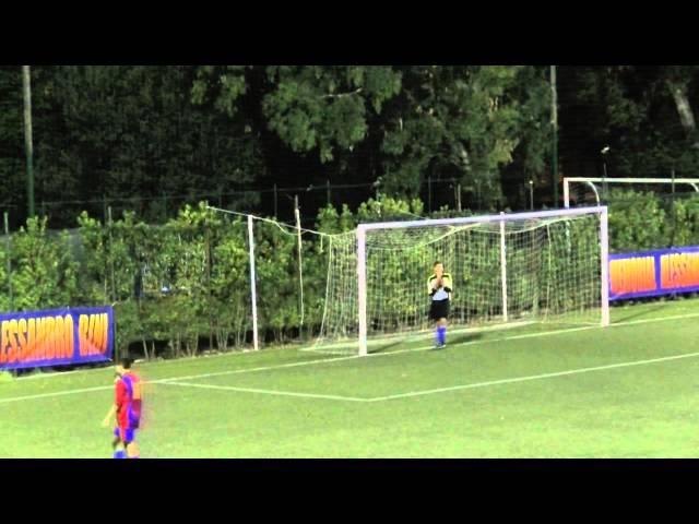VII MEMORIAL ALESSANDRO BINI: Vigor Peroconti-Atletico 2000 1-0