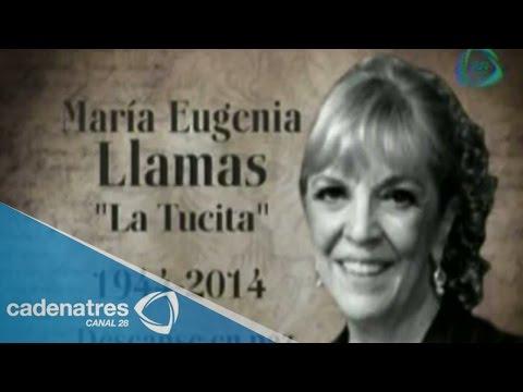 """Muere María Eugenia Llamas, """"La tucita"""""""