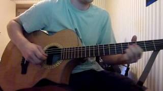 Eagles - Hotel California Acoustic Live Version Final Solo Cover