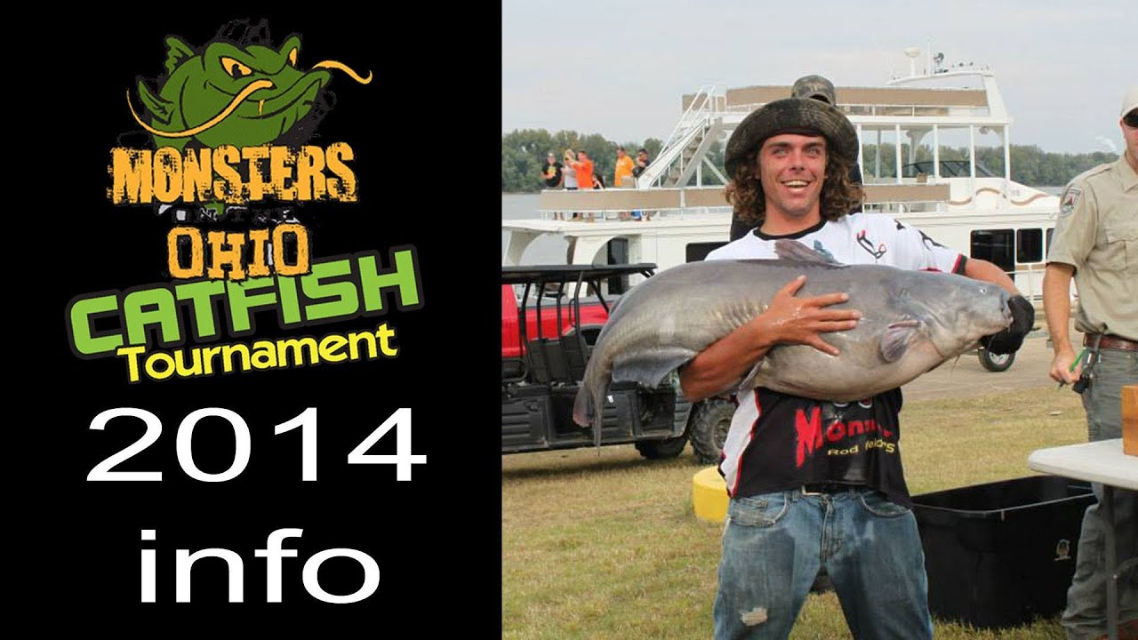 Monsters on the ohio national catfish tournament event for Ohio out of state fishing license