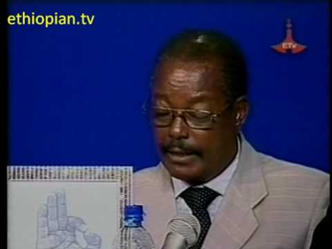 Ethiopian Election 2010: Debate 6, Round 1 - Part 4 of 9: AENM