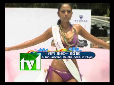 TV1_I am She 2012 Miss Universe Auditions @ Hyderabad