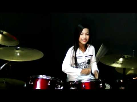 Mere Khwabon Mein Jo Aaye - Drum Cover by Nur Amira Syahira