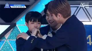 Produce X 101 ep 12 Son Dongpyo Cut Part 2