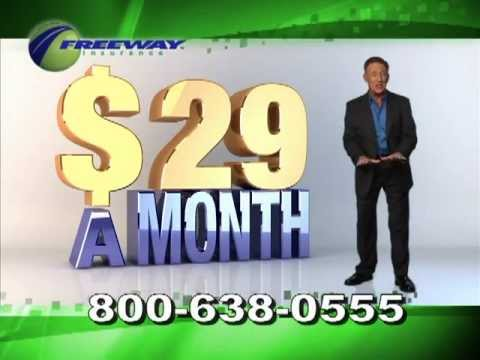 Freeway Auto Insurance commercial for Texas with Patrick Finerty