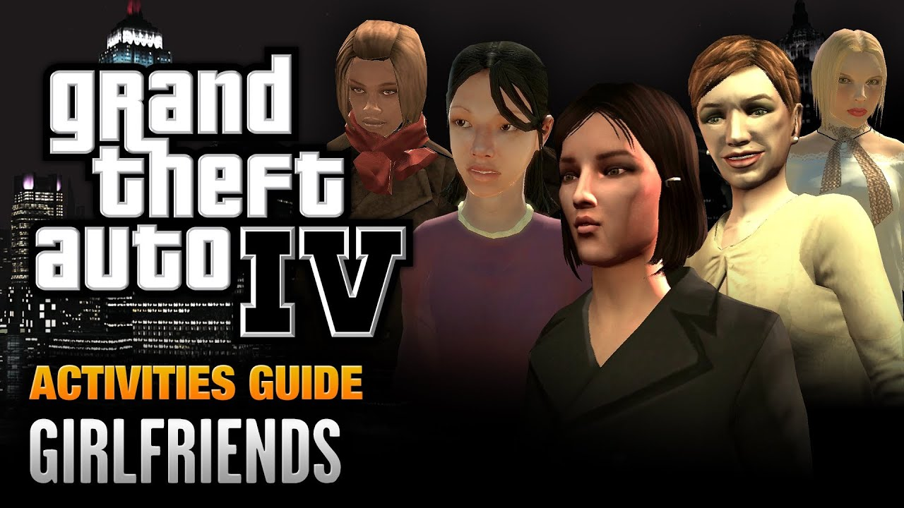 Where to find all girlfriends on gta san andreas