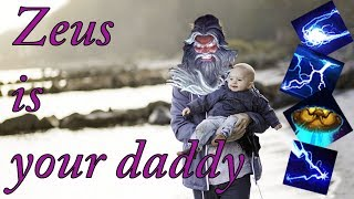 Zeus is your daddy - A SMITE experience