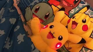 Good Night Pikachu! Rock A Bye Baby song!