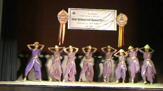 tulu folk dance by students of deccan international school
