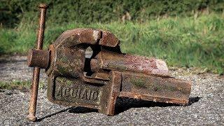 Vise Restoration Italian Steel Dovetail Style