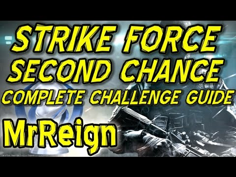 Call Of Duty Black Ops 2 - Strike Force - Second Chance - Complete Challenge Guide