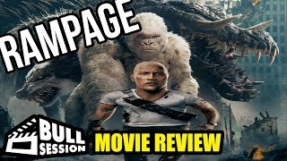 Rampage [Dwayne The Rock Johnson] Movie Review - Bull Session (ft. PartyElite)