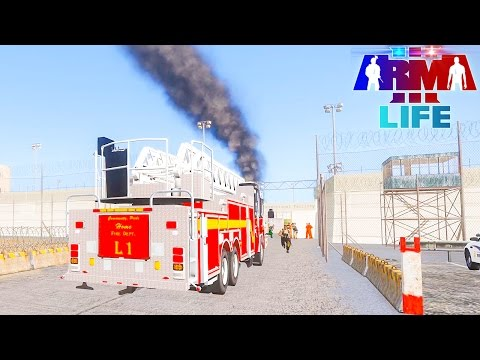 Arma 3 Life Police #98 - Prison on Fire