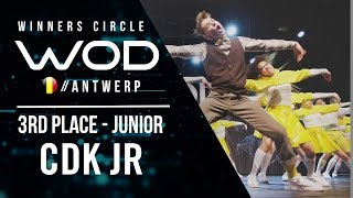 CDK JR | 3rd Place Junior Division | World of Dance Antwerp Qualifier 2018 | Winners Circle