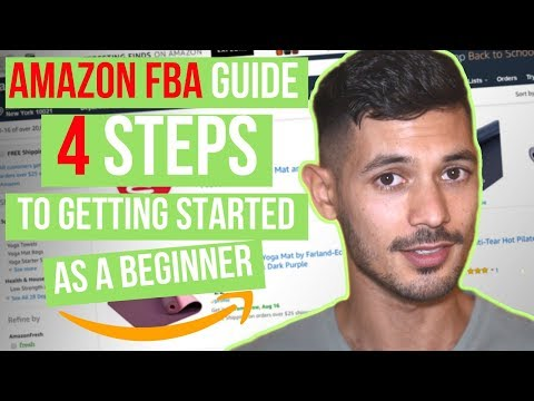 How To Get Started Selling On Amazon FBA For Beginners. Step By Step Guide