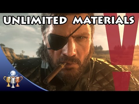 Metal Gear Solid V The Phantom Pain - Unlimited Fuel, Biological, Common, Minor & Precious Metals