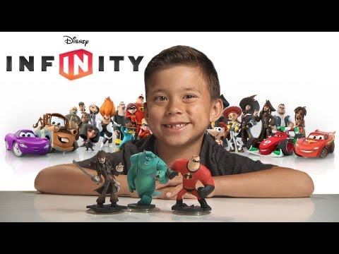 DISNEY INFINITY Overview. Unboxing & Review with EvanTubeHD Gameplay
