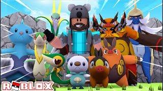 ALL GEN 5 STARTER EVOLUTIONS!!!! | Pokémon Brick Bronze [#85] | ROBLOX