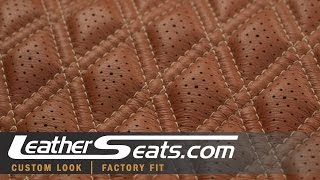 2.25in x 4in Acrylic Template For Double Stitching Diamond Pleat Inserts - LeatherSeats.com