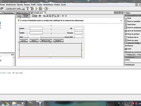 Modificar filas de una Tabla  en Netbeans