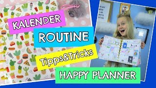 KALENDER ROUTINE 2018 📚 Back to school Tipps ❣ Tricks ❣ Diy | MaVie