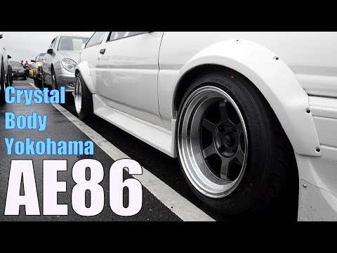 Japan Auction Corolla Levin AE86 Twincam - CBY Wide Body Kit