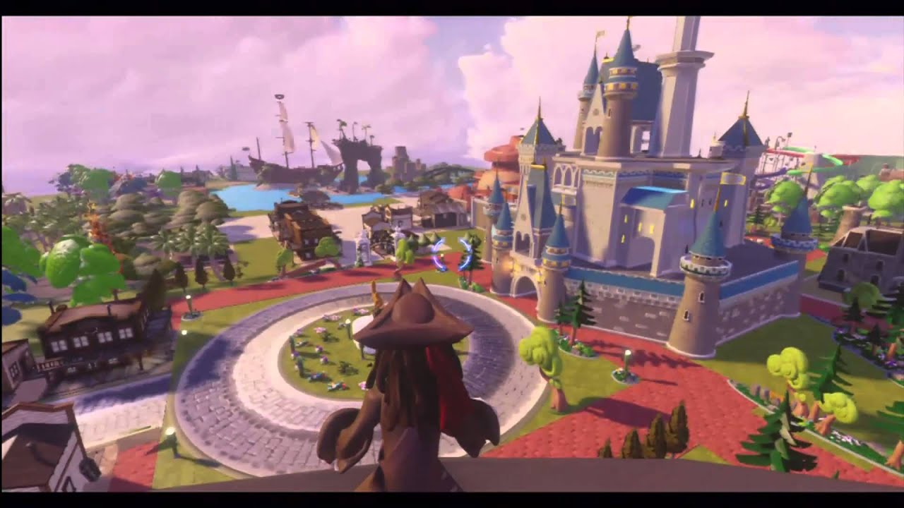 Disney Infinity Toy Box Mode Disney Land Youtube