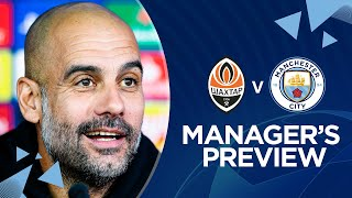 PEP GUARDIOLA REVEALS JOHN STONES INJURY | News Conference | Shakhtar v Man City