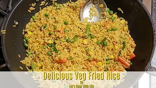 How To Make Vegetable Fried Rice
