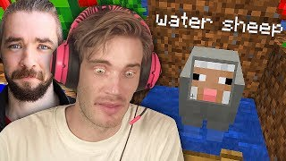 We found a Water Sheep in Minecraft! Minecraft w/ Jacksepticeye - Part 2