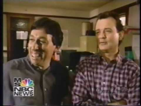 Bill Murray And Ivan Reitman Ghostbusters 2 On-Set Interview