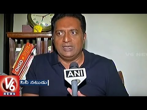 Prakash Raj Says I Am Not Afraid on Threats From Gauri Lankesh's Killers | V6 News