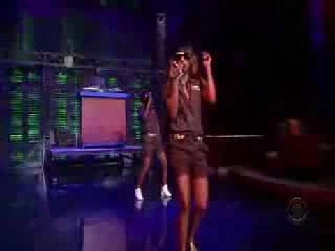 M.i.a. Paper Planes Live On Letterman video