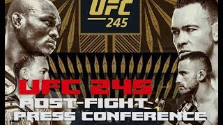 UFC 245 Post-Fight Press Conference: Kamaru Usman vs Colby Covington