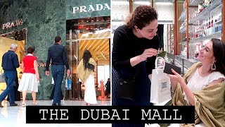 THE DUBAI MALL - LARGEST MALL IN THE WORLD | TRAVEL VLOG IV
