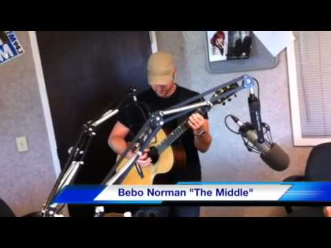 "Bebo Norman sings ""The Middle"""