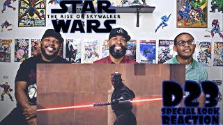 Star Wars : The Rise Of Skywalker D23 Special Look Reaction