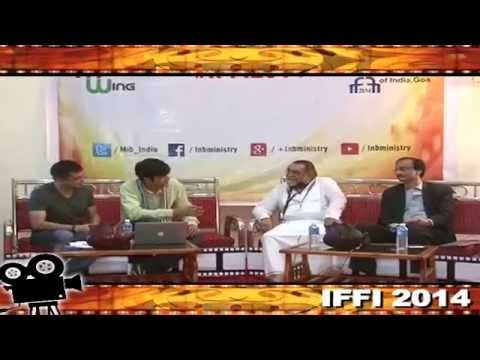 Talkathon@IFFI with Shri Shankar Mohan & ad Guru Prahlad Kakkar #IFFI2014