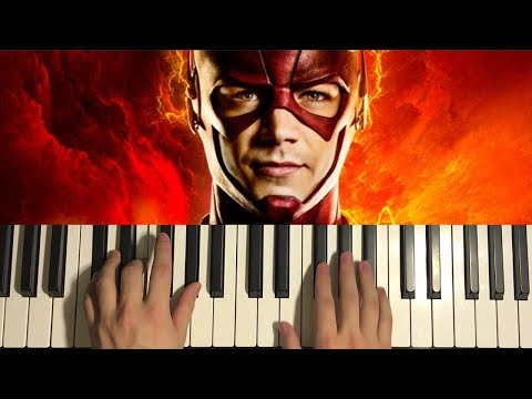 HOW TO PLAY - THE FLASH THEME (Piano Tutorial Lesson)
