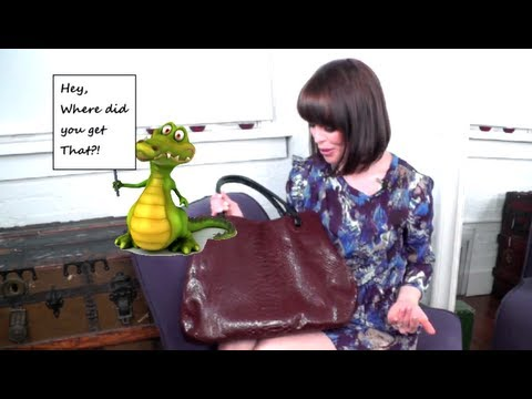 Designer Handbag Trends: FAUX Exotic Skin!